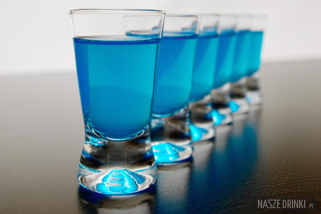 Niebieskie Kamikadze (Blue Kamikaze) ? shot na każdą imprezę