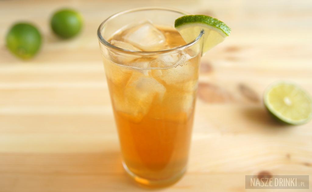 Dark and Stormy - drink z ciemnym rumem - Nasze Drinki